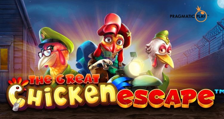 บินรัฐประหารด้วยสล็อตใหม่ของ Pragmatic Play The Great Chicken Escape