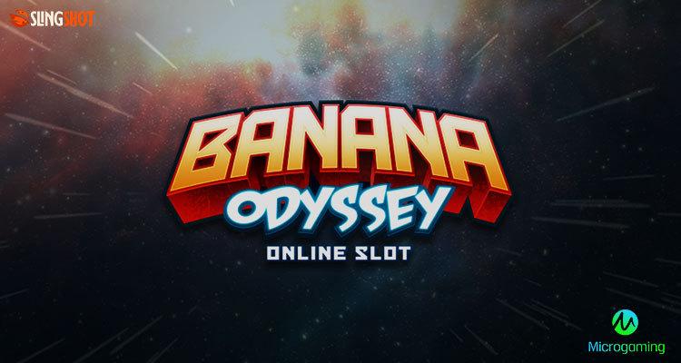 Microgaming และ Slingshot Studios พาเราไปผจญภัยในอวกาศกับ Banana Odyssey สล็อตใหม่
